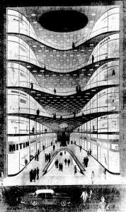 Desenho sobre o projeto de Alfredo Mathias.