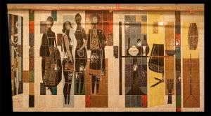 Azulejos decorados Grandes Galerias - Foto Fátima Amaral