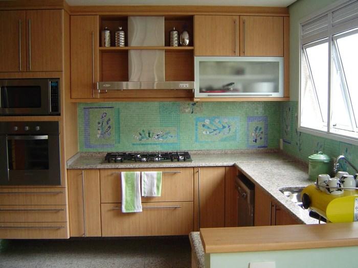 revestimento mosaico para cozinha