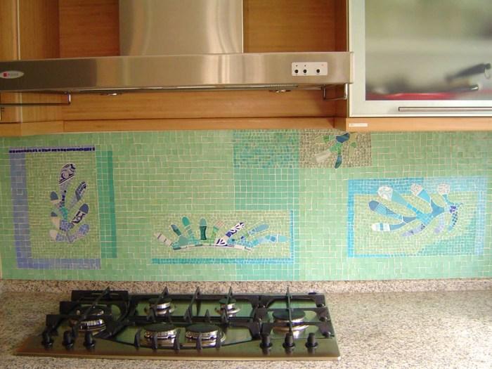 revestimento mosaico cozinha